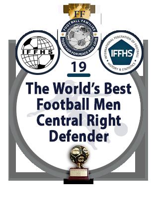 The World's Best Football Men Defensive Midfielder
