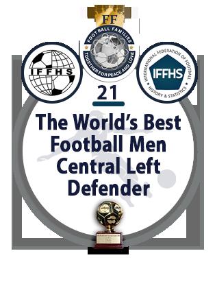 The World's Best Football Men Central Left Midfielder