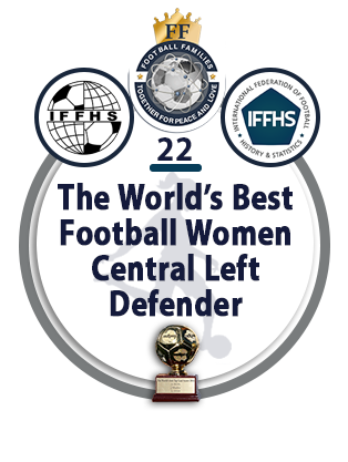 The World's best Football Women Central Left Midfielder