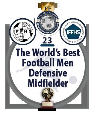The World's Best Football Men Central Right Midfielder
