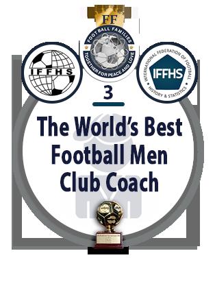 The World's Best Football Men Club Coach