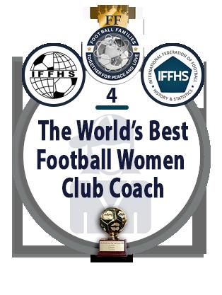 The World's Best Football Women Club Coach