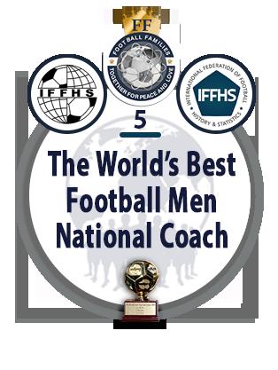 The World's Best Football Men National Coach.