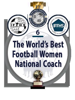 The World's Best Football Women National Coach.