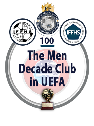 The Men Decade Club in UEFA.