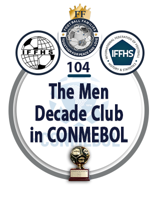 The Men Decade Club in CONMEBOL.
