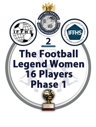 The Football Legend Women 16 Players Phase 1.