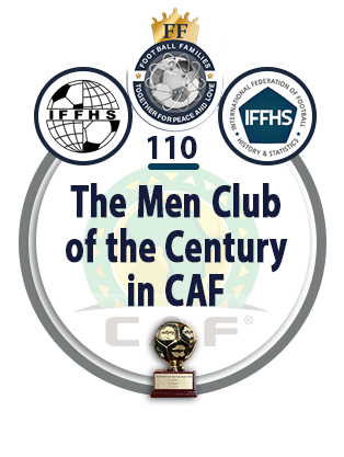 The Men Club of the Century in CAF.