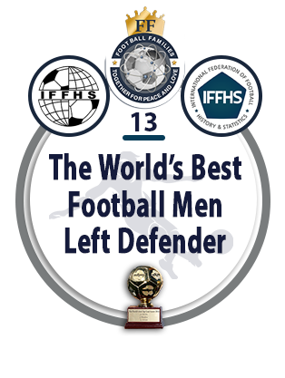 The World's Best Football Men Left Defender