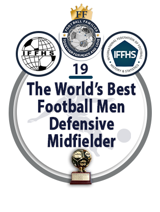 The World's Best Football Men Defensive Midfielder