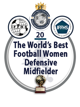 The World's Best Football Women Defensive Midfielder