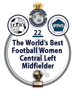 The World's best Football Women Central Left Midfielder