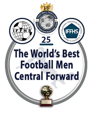 The World's Best Football Men Central Forward