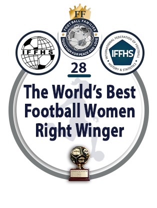 The World's Best Football Women Right Winger