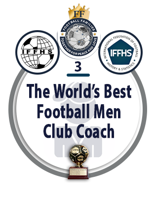 The World's Best Football Men Club Coach