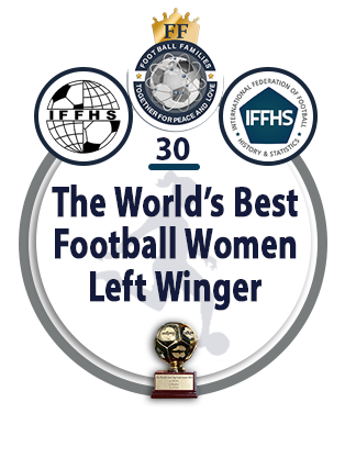 The World's Best Football Women Left Winger