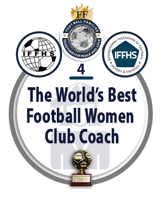 The World's Best Football Women Club Coach