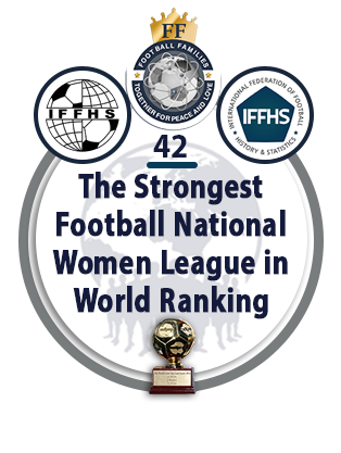 The Strongest Football National Women League in World Ranking.