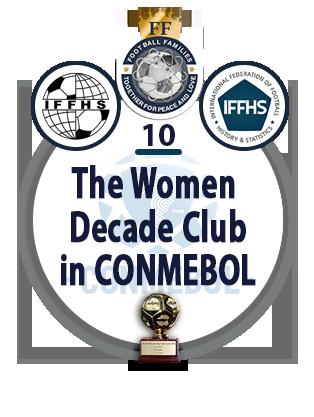 The Women Decade Club in CONMEBOL.