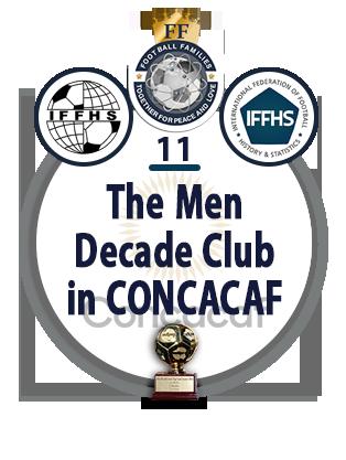 The Men Decade Club in CONCACAF.