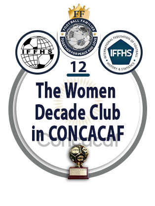 The Women Decade Club in CONCACAF.