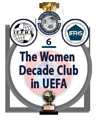 The Women Decade Club in UEFA.